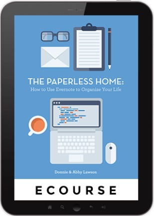 The Paperless Home: ecourse