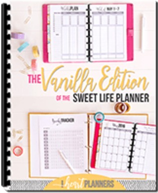 Sweet Life Planner, vanilla edition