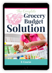 The Complete Grocery Budget Solution