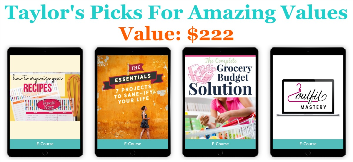 Taylor's bundle picks for amazing values