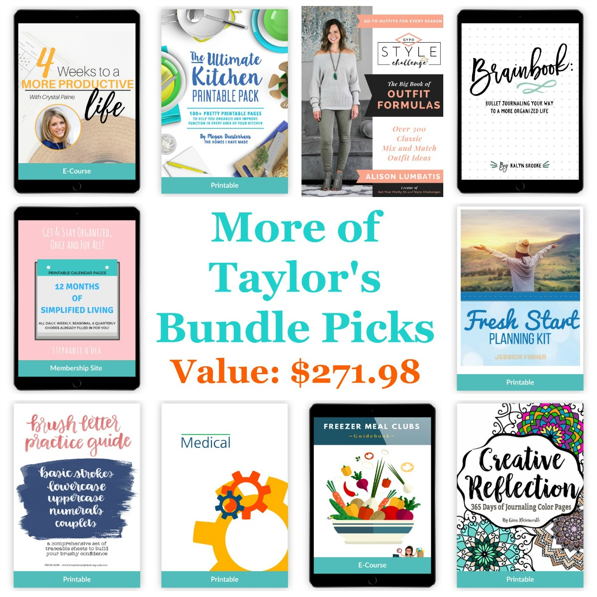 Even more of Taylor's bundle picks