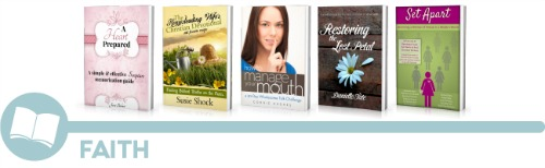 ultimate homemaking ebook bundle, faith shelf