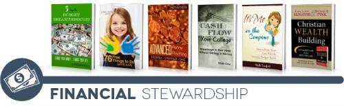 ultimate homemaking ebook bundle, financial shelf