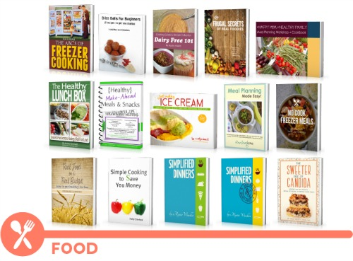 ultimate homemaking ebook bundle, food shelf