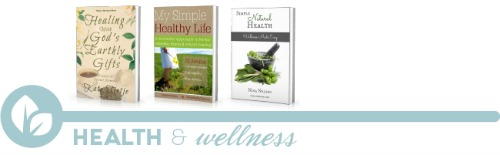 ultimate homemaking ebook bundle, health shelf