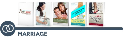 ultimate homemaking ebook bundle, marriage shelf