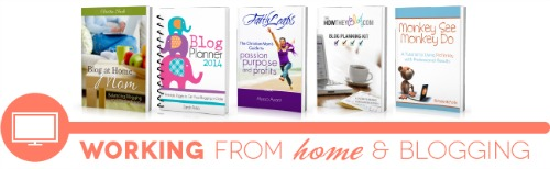 ultimate homemaking ebook bundle, working from home shelf