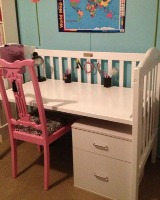 repurposing used baby cribs