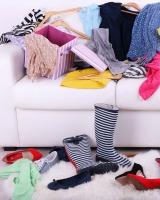 worn clothes