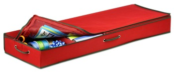 under the bed wrapping paper organizer