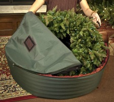 WreathKeeper wreath storage container