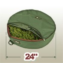 wreathkeeper storage bag, 24 inches