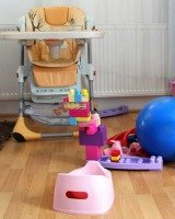 baby clutter
