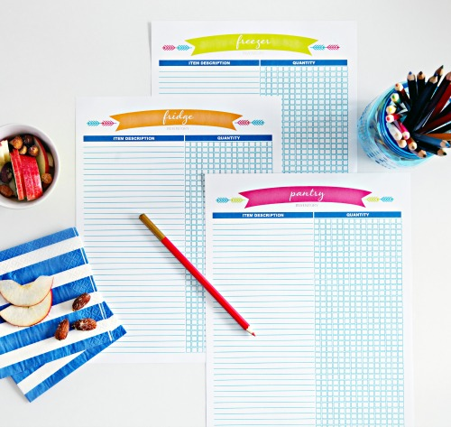 menu planning kit