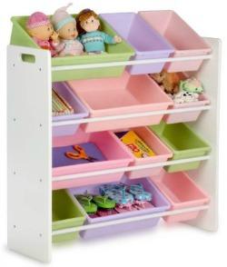 toy organizer and storage bins