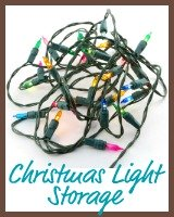 christmas light storage