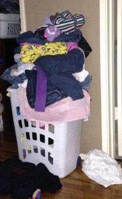 choose a big enough clothes hamper