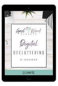 Digital Decluttering eCourse