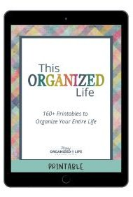 This Organized Life printables pack