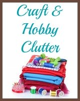 crafts and hobby clutter