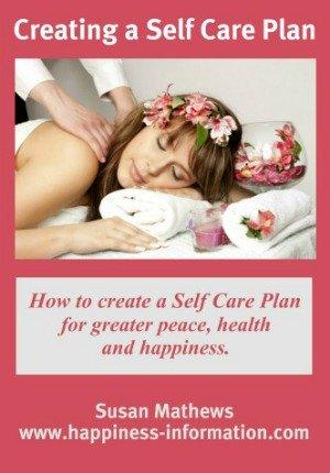 Creating a Self Care Plan ebook