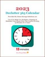 Free printable declutter calendar