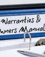 warranties and owner's manuals