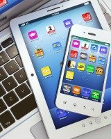 delete apps and digital clutter from smart phones and tablets