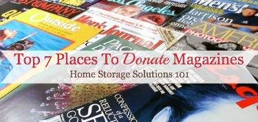 Top 7 Places To Donate Magazines When Decluttering Your Home