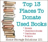 Places To Donate Used Books