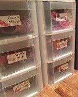 kids' dresser drawer labels
