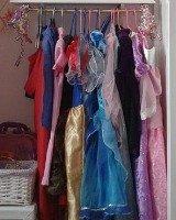 kids' dress up clothes storage