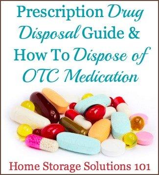 OTC & prescription drug disposal guide