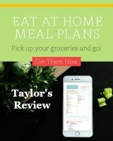 My review of Eat at Home meal plans