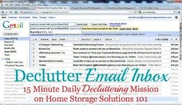 get rid of email clutter in your inbox