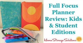 Taylor's review of Full Focus Planner: Kids & Student Editions