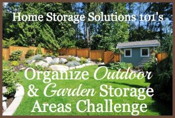 organize outdoor and garden storage areas challenge