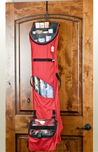Click to buy Over the door gift wrap storage bag