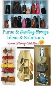 Purse & Handbag Storage