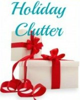 get rid of holiday clutter
