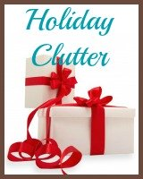 holiday clutter