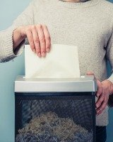 home paper shredder