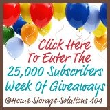 how to organize your life giveaway