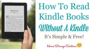 How to read Kindle books without a Kindle