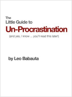 The Little Guide to Un-Procrastination