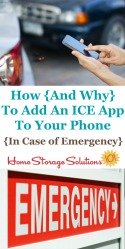 How and why to add an ICE app to your phone in case of emergency