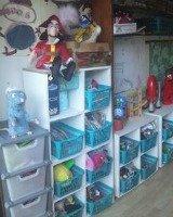 kids playroom storage