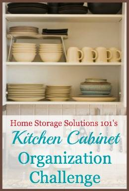 Kitchen Cabinet And Drawer Organization Step By Instructions Part Of The 52 Weeks To
