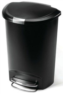 SimpleHuman step kitchen trash can