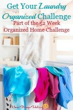 laundry organization challenge